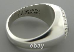 TIFFANY & Co. STERLING SILVER NASA ROCKWELL INTERNATIONAL RING SIZE 9.5