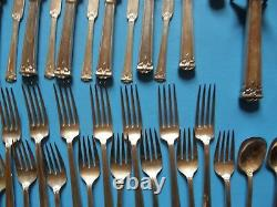 Trianon By International Sterling Silver Flatware Set 12 Service 115 Pieces