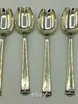 Trianon by International Sterling Silver set of 8 Ice Cream Forks 5.75
