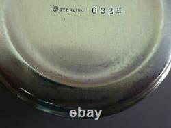 Very Nice Hammered Sterling Baby Cup By International-2 5/8 Tall