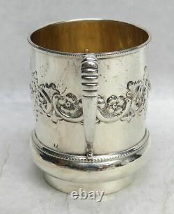 Vintage International Sterling Silver 3 Coffee Cup / Mug