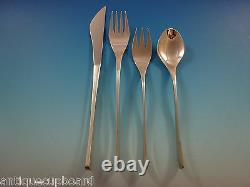 Vision by International Sterling Silver Flatware Set Service 44 Pieces Modern