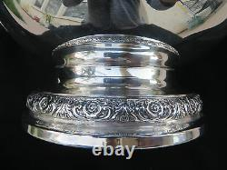 Vtg Large International Sterling 925 Prelude Patten Pitcher 4 1/4 Pts Ex 721 Gr