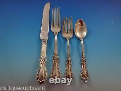 Wild Rose by International Sterling Silver Flatware Service 8 Set 45 Pieces