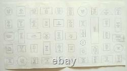 1977 Int'l Society Of Postmasters 50 Sterling Silver Greatest Stamps Lingots Coa