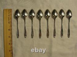 8 Vintage International Argent Sterling Prélude Demitasse Spoons