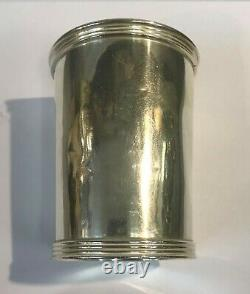 Antique Sterling Silver Mint Julep Cup Par International