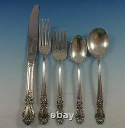 Brocade De L'international Sterling Silver Flatware Set Pour 8 Pièces De Service 48