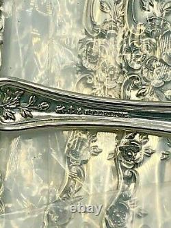 Buttercup Par Gorham Sterling Silver Ensemble De 8 Fourchettes De Crème Glacée 5,25