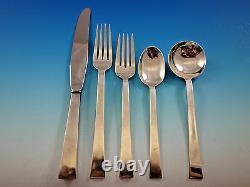 Continental Par International Sterling Silver Flatware Set Service 30 Pièces