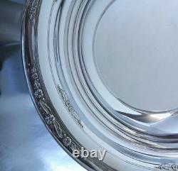 Cour De Justice Internationale Sterling Silver Bowl Grand 10w Non Monogram