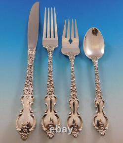 Du Barry Par International Sterling Silver Flatware Service Pour 8 Set 37 Pièces