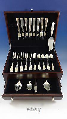 Eighteen Ten 1810 Par International Sterling Silver Flatware Service 8 Set 37 Pcs