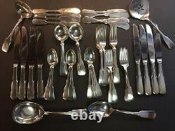 Eighteen Ten 1810 Par International Sterling Silver Flatware Service 8 Set 56 Pcs