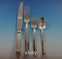 Empress De L'international Sterling Silver Dinner Flatware Set 8 Service 32 Pièces