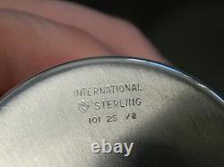 Ensemble De 12 Tumblers International 101 25-2 Sterling Silver Mint Julep Cups