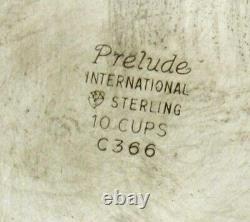 Ensemble International De Thé Sterling C1940 Prelude
