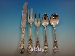 Fontaine Par International Sterling Silver Flatware Service Set 33 Pièces