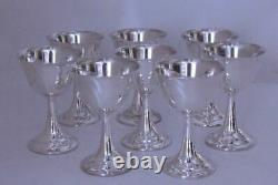 Gobelets Sterling De Vin D'argent Par Le Modèle International De Lord Saybrook
