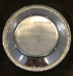 International Prelude Sterling Silver Bread Plate(s) 6 Pouces No Monograms