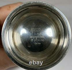 International Royal Danish Sterling Silver Demitasse Creamer 4 13034