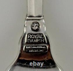 International Royal Danish Sterling Silver Fourches À Cocktail 5 5/8 Ensemble De 12