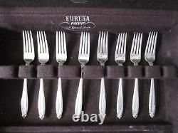 International Silver Prelude Pattern Sterling Flatware 32-piece Set No Monos