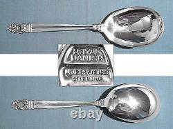 International Sterling 9 1/4 Berry / Casserole Spoon Royal Danois Non Mono