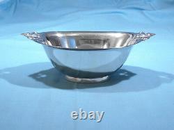 International Sterling Mayonnaise Bowl Royal Danois Non Mono