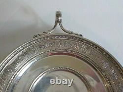 International Wedgwood Sterling Silver Bonbon Tray / Plat, 135 Grammes