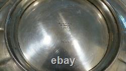 International Wedgwood Sterling Silver Sandwich Platter H31-1a 10