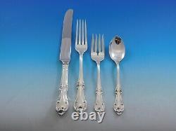 Joan Of Arc Par International Sterling Silver Flatware Service 8 Set 32 Pieces