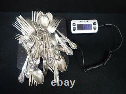 Joan Of Arc Par International Sterling Silver Flatware Set 52 Pieces No Monogram