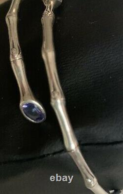 John Hardy Exclusive Bamboo Tanzanite Flex Bracelet De Diamonds International