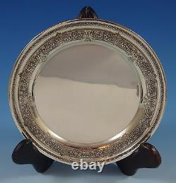 La Renaissance De L'international Sterling Silver Dessert Plate #h418 (#1229)