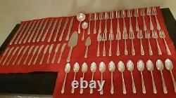 Orchid Sterling Par International Sterling Pat 1929 Set