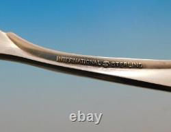 Pine Spray Par International Sterling Silver Flatware Service Pour 8 Set 43 Pcs