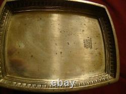 Pitcher International De Panthéon En Argent Sterling 33 0z. Monogramme R Sur Le Devant