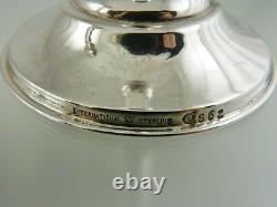 Porte-bougies À Poids Simple 6 Sterling S 52 Par International Silver Co
