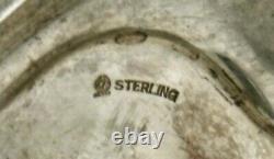 Pot International De Café Sterling C1925 Hand Décorated