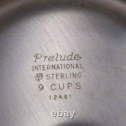 Prélude Par International Argent Sterling 3 Pièces Cafetière Vintage (#4427)