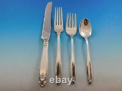 Prélude Par International Sterling Silver Flatware Set Dîner Service 145 Pièces