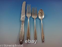 Prelude Par International Sterling Silver Flatware Set Service 76 Pieces