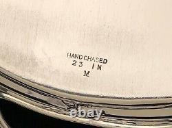 Prélude Poursuivi Par International Sterling Silver, Grand Serveur Avec Poignées 22,5