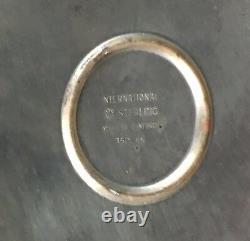 Rare International Sterling Pondéré 3-light 12-1/2 Candelabra 150 65