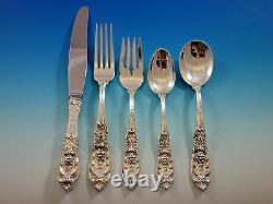 Richelieu Par International Sterling Silver Flatware Set For 12 Service 65 Pcs