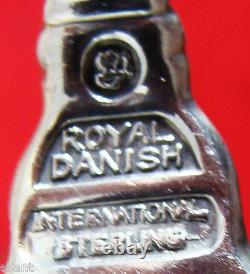 Royal Danish Par International Sterl. Dîner & Déjeuner Flatware Set 12x11 132 Pcs