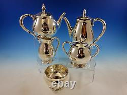 Royal Danish Par International Sterling Silver Flatware Dn Set For 12 + Tea Set