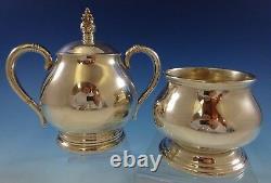 Royal Danois De L'international Sterling Silver Tea Set 3pc (#2439)