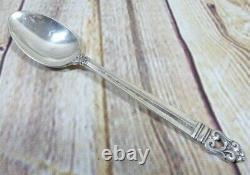 Royal Danois De L'international Sterling Silver Tea Spoons Ensemble De 11